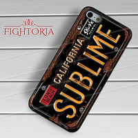 sublime licence plat-1nna for iPhone 4/4S/5/5S/5C/6/ 6+,samsung S3/S4/S5,S6 Regular,S6 edge,samsung note 3/4