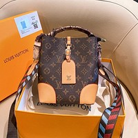 Louis Vuitton LV Bucket Bag Fashion Trend Handheld Shoulder Bag