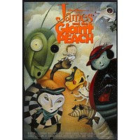 James And The Giant Peach Movie poster 11inx17in
