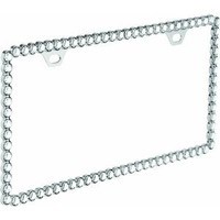 Bell 22-1-46291-8 Diamonds License Plate Frame : Amazon.com : Automotive