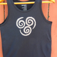 Avatar the Last Airbender Tank Top with Airbending Symbol