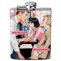 Why Wait? Hip Flask