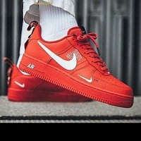 NIKE AIR FORCE 1 07 LOW new men and women casual fashion wild sports shoes