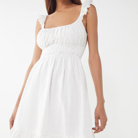 Capulet Gemma Smocked Eyelet Dress | Urban Outfitters
