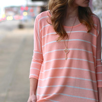 Here Comes The Sun Top {Peach}