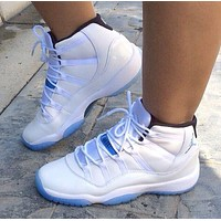 NIKE Air jordan 11 aj 11 high top men's women's sneakers Shoes
