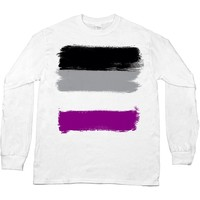Asexual Pride Flag -- Unisex Long-Sleeve