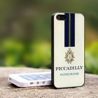 PICCADILLY Filter De Luxe - For iPhone 4,4S Black Case Cover