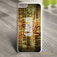 A Day To Remember Song Custom case for iPhone, iPod and iPad