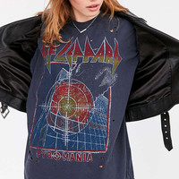 Def Leppard Oversized Tee | Urban Outfitters