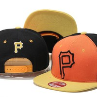 Perfect Pittsburgh Pirates MLB hats Women Men Embroidery Sports Sun Hat Baseball Cap Hat