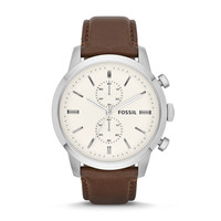 Townsman Leather Watch | Fossil