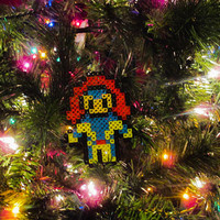 X-men Inspired Jean Grey Bead Sprite Ornament, Magnet, or Wall Decor
