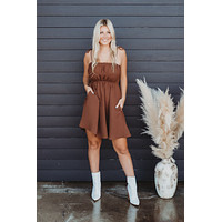 All Dolled Up Dress (Coffee)