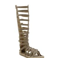Natural Dubai Gladiator Sandals