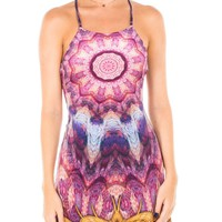 Afterglow Velvet Mini Dress