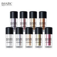 IMAGIC Eyeshadow Shimmer Stick Loose Pigment Shadows Eyes Metallic Glitte Powder Metallic Eye Shadow Color Makeup