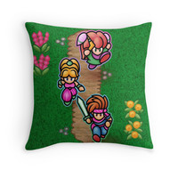'Mana Kids' Throw Pillow by likelikes