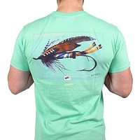 Outfitter Series Collection Lure One Tee in Bimini Green by Southern Marsh