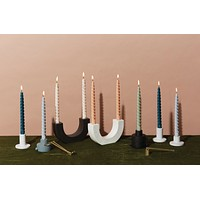 Paddywax - Twisted Taper Candles - 2 Colors Available