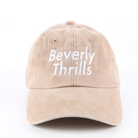 The Thrills Dad Hat in Khaki Mineral
