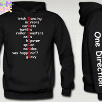 One Direction Directioner Hoodie 1D Niall Zayn Liam by TeesGame