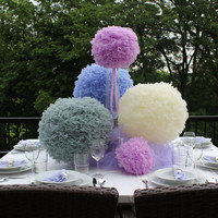 Wedding/Party centerpieces Collection of 6 by BellBloomDesign