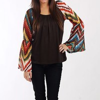 The Dylan Top, Brown