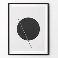 Geometric art, wall art prints, geometric print, black and white, wall decor, graphic, inspirational