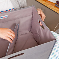 UnHampered Collapsible Laundry Basket | Quirky Products
