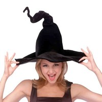 Rubies Costumes Women's Wired Witch Hat Adult