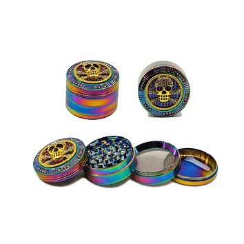 "Rainbow Bling Grinder - (2.0"")(50mm)"