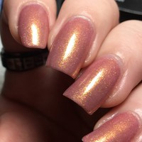 Russian Gold w/ Gold Shimmer