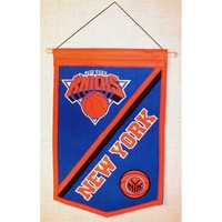New York Knicks NBA Traditions Banner (12x18)