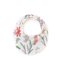 Baby Bib in Floral Study