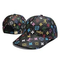 DCCKNQ2 LV Louis Vuitton Women Men Fashion Sunhat Embroidery Baseball Cap Hat