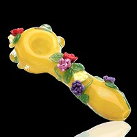 Empire Glass Sunshine Garden Glass Pipe