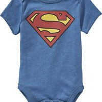 Old Navy DC Comics Superman Bodysuits For Baby