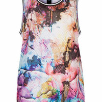 FLORAL PRINT AIRTEX TANK TOP BY ESCAPOLOGY