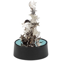 Magnetic Sculpture Moons and Stars | Magnetic Sculptures & Toys