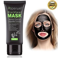 Auperwel Black Mask, Blackhead Remover Mask, Activated Charcoal Face Mask Peel Off Mask Deep...