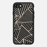 Abstraction Zoom Nude Transparent iPhone 7 Case by Project M | Casetify