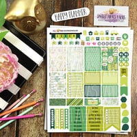 Shabby Paddy Weekly Planner Stickers | Dessert Planner Stickers | Fits Erin Condren, MAMBI Happy Planner, InkWELL Press | St. Patrick's Day