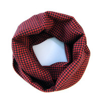 Childs Holiday Scarf Child Flannel Scarf Toddler Scarf Girl Scarf Boy Scarf Winter Scarf Red Black Holiday Scarf Holiday Gift Ready to Ship