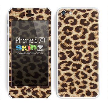 Simple Cheetah Skin For The iPhone 5c