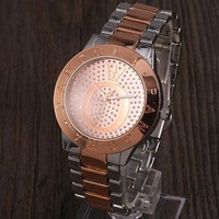 PANDORA Men's and Women's Trendy Quartz Watches F-YY-ZT Silver&rose gold