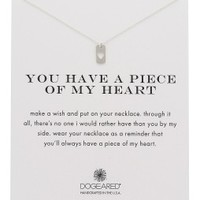 Piece of My Heart Charm Necklace