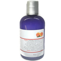 Hair Cream Peaches & Cream - Body Milk - Natural Hair Conditioner - Leave in Moisturizer Curl Enhancer 8 oz - Color Safe Relaxed