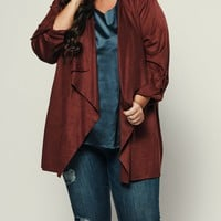 Curvy Jamming Out Jacket (Chestnut)