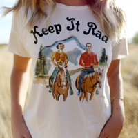 KEEP IT RAD THROWBACK RELAXED TEE